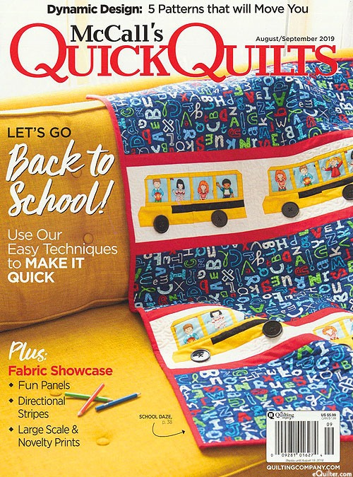 Quick Quilts, Fall 2019